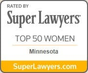 Super Lawyers Top 50 Woman Minnesota